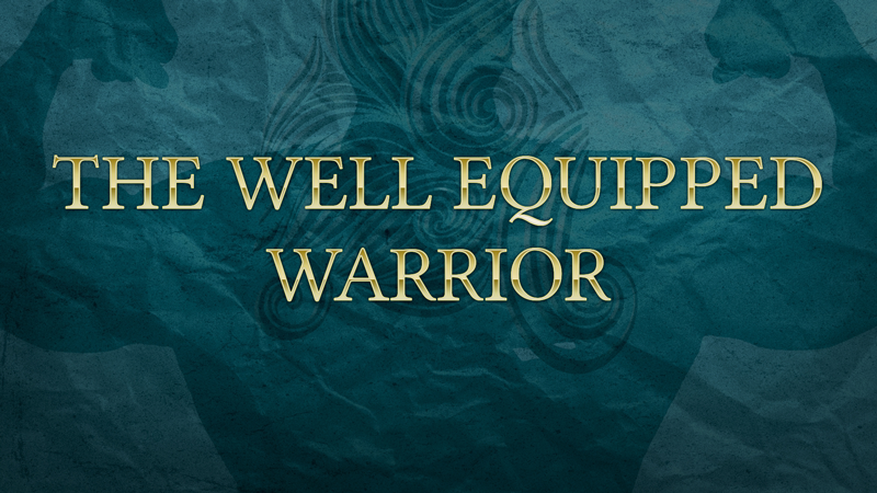 well equipped warrior